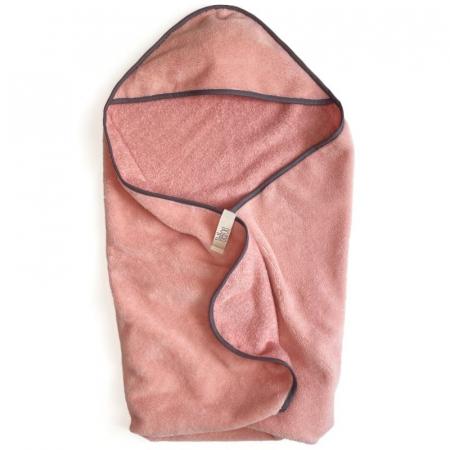 Teplá osuška Bamboo Salmon Pink