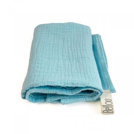Plena Muslin 70x70 Simple Turquoise