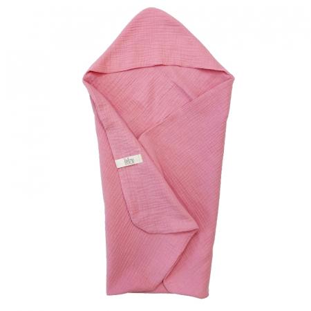 Lehká osuška Rose Pink Muslin
