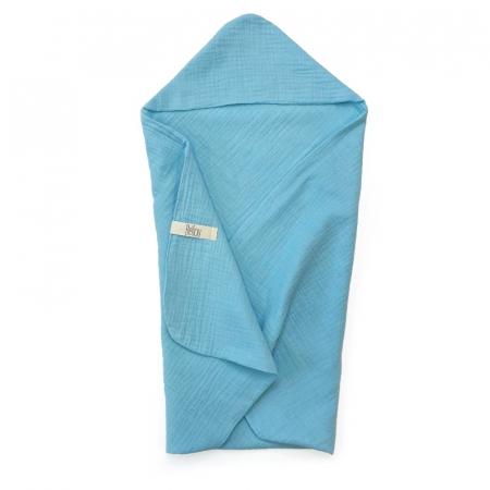 Lehká osuška Simple Turquoise Muslin
