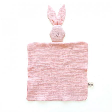 Muchláček Light Pink Bunny