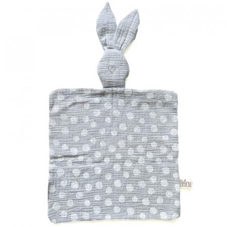 Muchláček Bellou Grey Dots Bunny