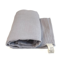 Plena Muslin 70x70 Light Grey